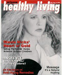 Healthy Living Mag cover